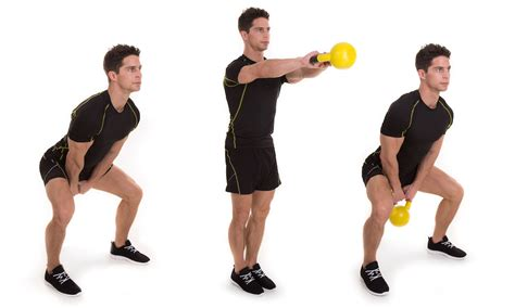 Kettlebell Swing Exercise by Kettlebell Workout For Kettlebell Challenge Workouts