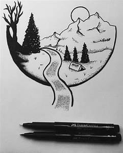 Simple Black And White Drawing Ideas | www.pixshark.com ...