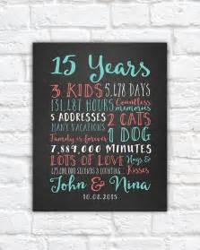 9 year wedding anniversary gift best 25 15 year anniversary ideas on 15 year wedding anniversary 8 year