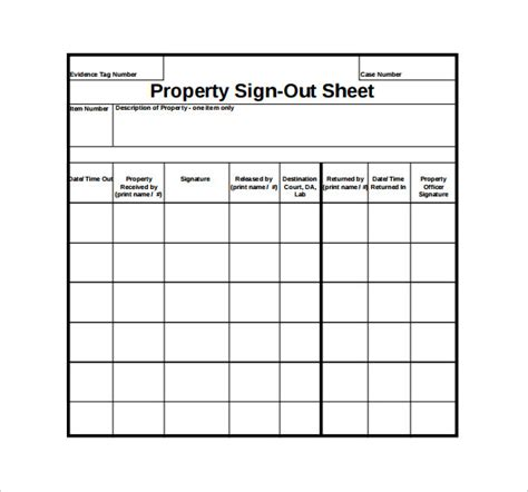 sign  sheet template   word  documents