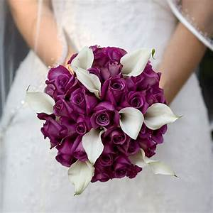 Purple Wedding Flowers For Bouquets and Centerpieces