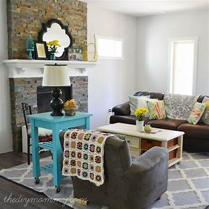 Our QuotRustic Glam Farmhousequot Living Room Our DIY House