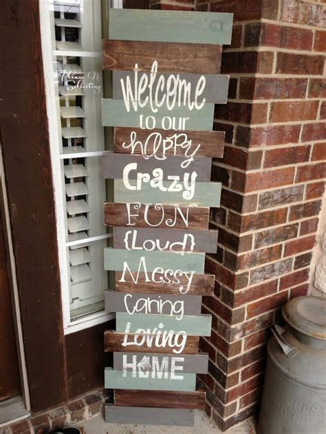 amazing diy  signs   front porch