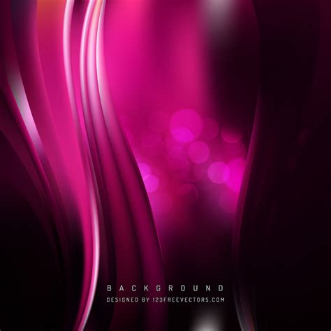 Abstract Black Background Design by Abstract Black Pink Wave Design Background 123freevectors