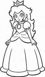 Peach Coloring Princess Pages Mario Daisy Super Coloriage Kart Printable Rosalina Blistinaorgin Paper Dessin Sheets Deviantart Colorier Imprimer Noel Princesse sketch template