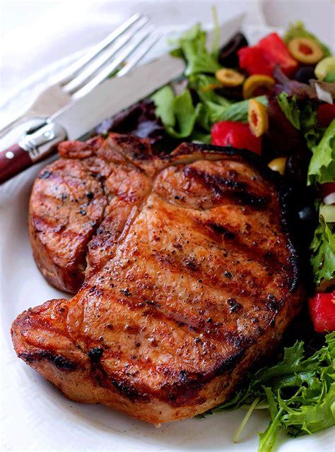grilled pork chops grilled pork chop marinade bunny s warm oven
