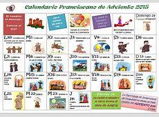 Parroquia La Inmaculada Calendario de Adviento