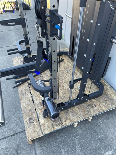 french fitness fsr functional smith squat rack home gym  fitness superstore