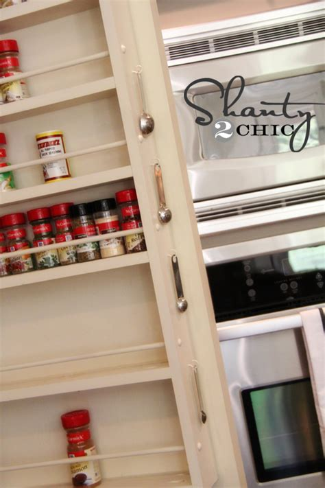 The Door Spice Rack Pantry by Pantry Ideas Diy Door Spice Rack Shanty 2 Chic