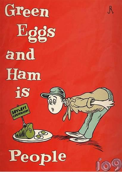 Ham Eggs Seuss Dr Covers Suess Children