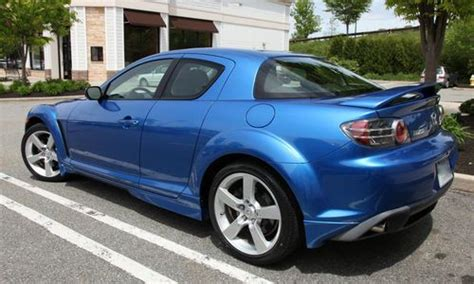 2005 mazda rx 8 shinka 6 spd manual easy imports auto dealership in fort lauderdale florida purchase used one owner 2005 mazda rx8 6 speed manual winning blue black fabric interior in