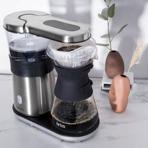 With pour over coffee, it's easier to control the potency, while reducing your risk of finding floating grinds in your cup. 8 Cup Pour Over Replacement Carafe - BRIM