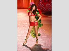 Red Hot Adriana Lima Victorias Secret ANGELS IN BLOOM