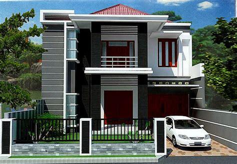 rumah lantai  minimalis