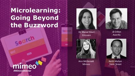 Microlearning Going Beyond The Buzzword