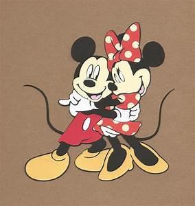 Micky Maus Und Minni Maus : 1 5 1 2 inch tall hugging mickey and minnie mouse cricut die ~ Orissabook.com Haus und Dekorationen