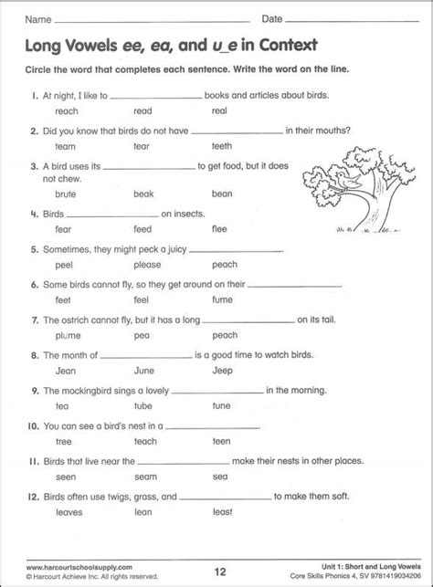 free phonic worksheets for 3rd grade skills phonics grade 4 038955 details rainbow
