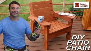 How, To, Build, A, Patio, Chair, -, Diy, Outdoor, Chair, Build