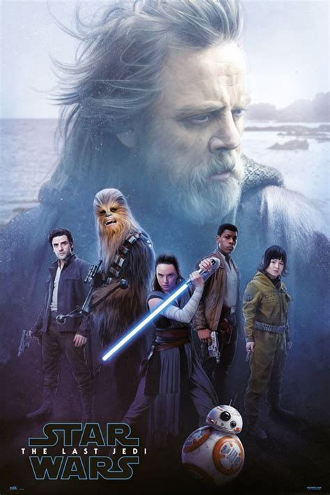 Star Wars: Episode VIII - The Last Jedi - Movie Poster ...