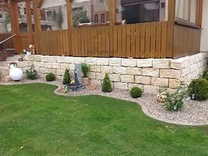 Gartenmauern Aus Stein : sandstein mauersteine gartenmauer steine l wenberg 30 stk ~ Michelbontemps.com Haus und Dekorationen