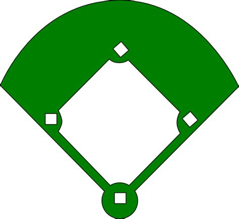 Baseball Field Clip Epic Baseball Field Clip At Clker Vector Clip