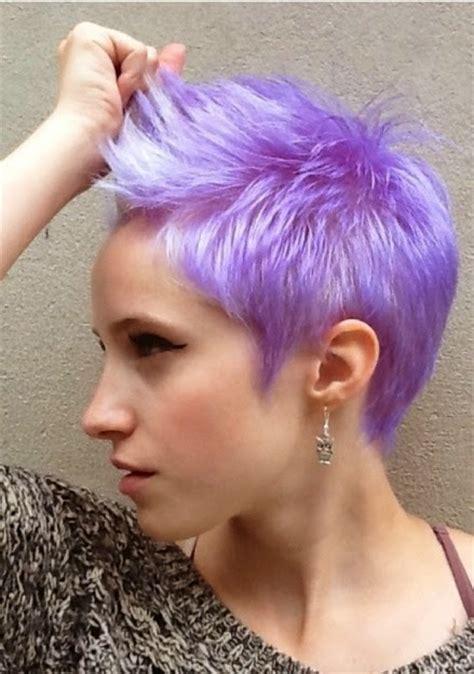 short hair special lavender pixie haircuts  haircut web