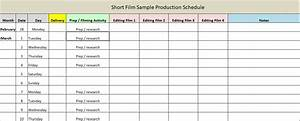 production schedule template excel word excel tmp With documentary production schedule template