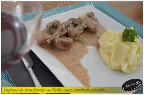 cuisiner les rognons de boeuf cuisiner rognons de veau rognons de veau flambs au porto sauce moutarde persille recette