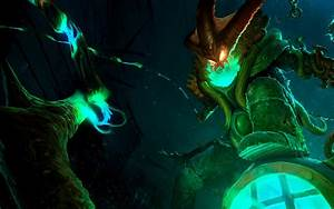 LoL - Deep Terror Thresh Animated Login Screen by ...