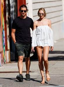 Candice Swanepoel And Hermann Nicoli Out In New York