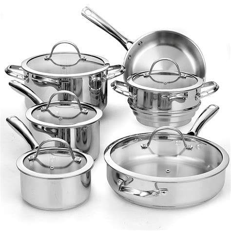 stainless cookware steel amazon comparison via