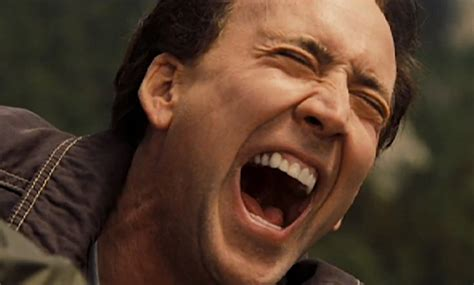 this supercut of every nicolas cage laugh is a psychotic