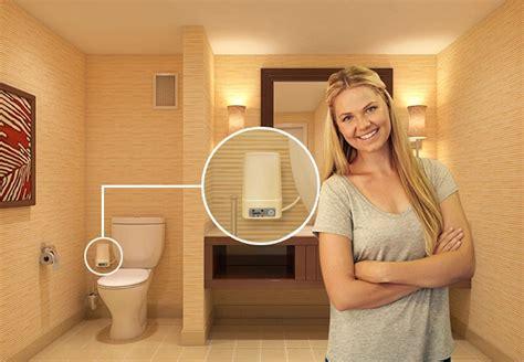 odorless  toilet odor removal system
