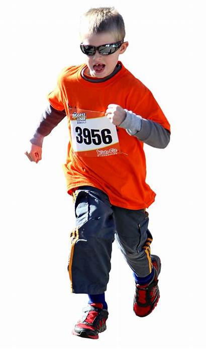 Running Kid Foundation Transparent Fitness Icon Runners