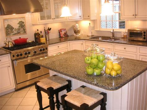 colour countertops  white kitchen cabinets pip