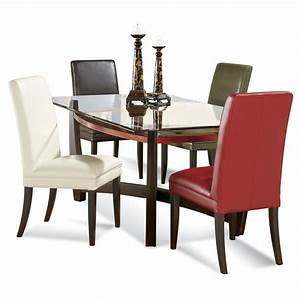 Dining sets for small areas rectangular glass dining room for Glass top dining room tables rectangular