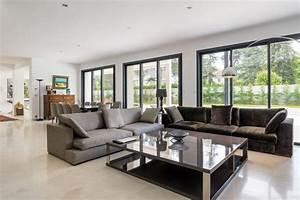 agencement decoration d39une villa contemporain salon With salon de jardin contemporain 11 agencement et decoration dune villa laura djabourian