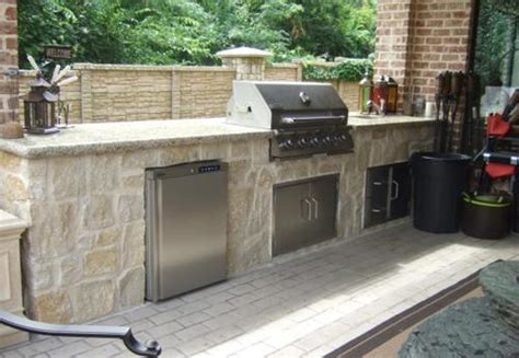 Prefab Outdoor Kitchen Cabinets Woodland Direct Fireplace Faux Stacked Stone Old Gas Decorative Stones See Through Insert Tv Stands On Sale Tiles For Fireplaces Surrounds Artwork