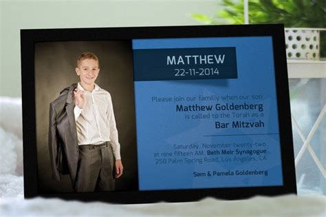 bar mitzvah invitation wedding templates creative market