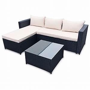 Rattan Lounge Set Braun : poly rattan set gartenm bel rattan lounge gartenset braun oder schwarz sofa garnitur couch eck ~ Bigdaddyawards.com Haus und Dekorationen
