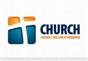 Modern Church Cross Logo