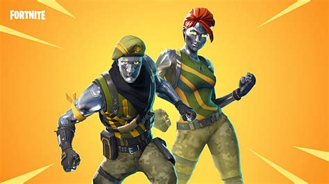 fortnite leaked skins flytrap chrome commandos