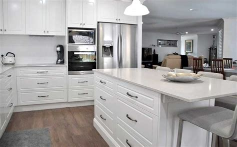 kitchen cabinets renovation open plan transformation kitchen renovation brisbane 3204