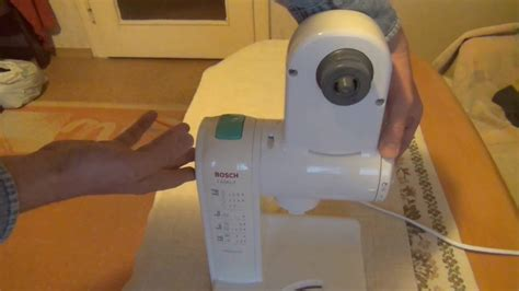 Test-funktionsprüfung Küchenmaschine Bosch Mum 45 Motor