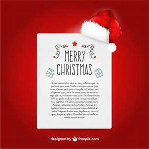 Santa vector character with christmas banners vector for Cheap letters from santa claus