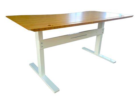 hand crank standing desk mountingear hand crank height adjustable desk