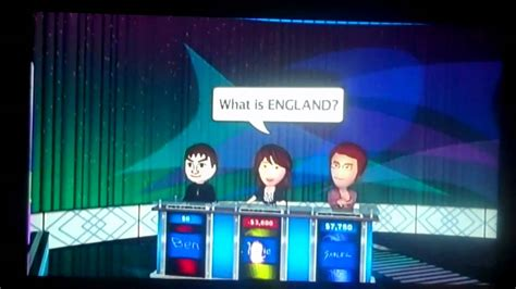 jeopardy wii game  part  youtube