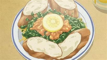 Anime Zake Wakako Delicious Eating Desserts Sea
