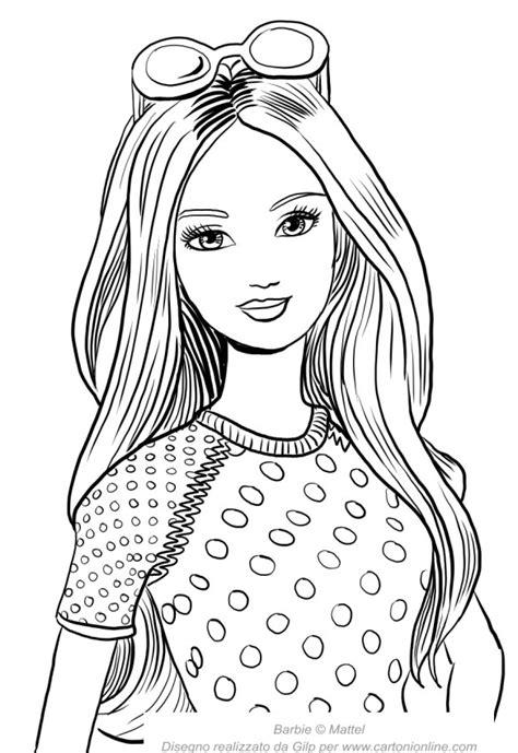 giochi da colorare per ragazze gratis ritratto di da stare gratis disegno per bambine