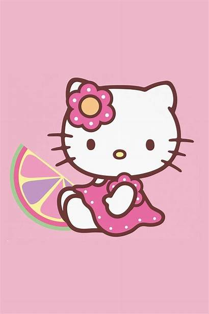 Kawaii Kitty Hello Iphone Wallpapers Super Sanrio